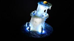 箱庭 Healing lamp 鍾乳洞の滝