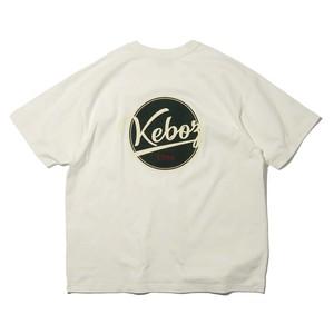 KEBOZ×FREAK'S STORE SPECIAL BBLOGO SHORT SLEEVE TEE【OFF WHITE】
