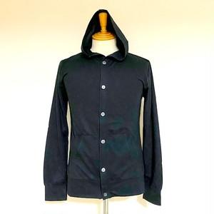 AIRLET® 2way Hooded Cardigan Black