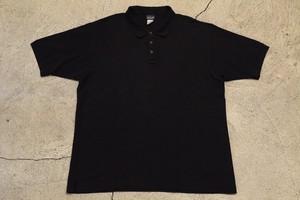 USED 00s patagonia Polo shirt Black -Large 0956