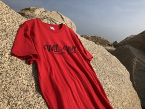 Will×Will logo T-shirts RED [wco8]