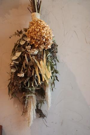 dry flower big swag -order made-