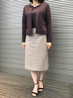 綿レーススカート