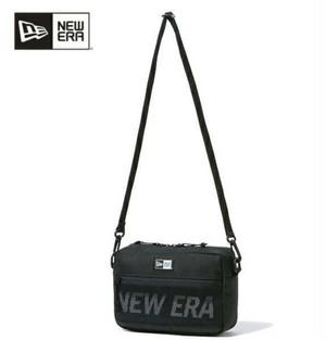 ニューエラ NEW ERA バック ショルダーバツグ メンズ ショルダーポーチ ラージ 2L ブラック×ホワイト