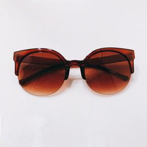 Eyewear♡ラウンド02 ブラウン