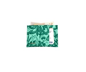 planar Card Case S -Green Jungle-