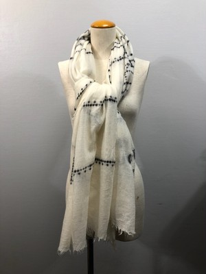 .CHANEL COCO MARC CASHMERE100% LARGE SIZE SHAWL MADE IN ITALY/シャネルココマークカシミヤ100%大判ショール(ストール) 2000000038520