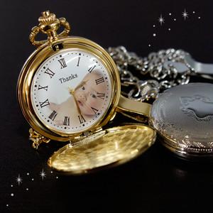 懐中時計「For you」オリジナル  オーダーメイド 時計