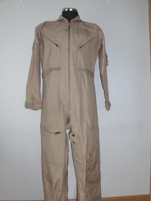 米軍 CWU-27/P フライトスーツ デザートカラー 極上品
