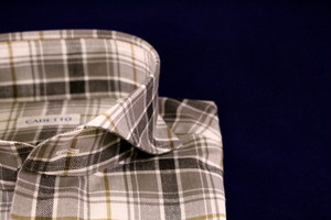CADETTO ORIGINALS SHIRTS Khaki Check