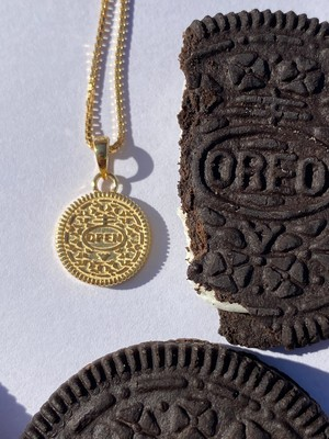 Open Up Cookie Necklace K18GP/ Silver925 ゴールドメッキ/IN-PUT-OUT