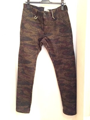 Fleece Tapered Pants Dark Camo