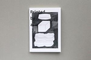 ドローイング集『Printed by asaru』