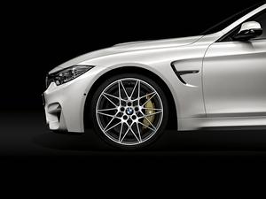 (正規輸入品)BMW F82 F83 M4 コンペティションPKG用 ブラック サイドグリルオーナメント