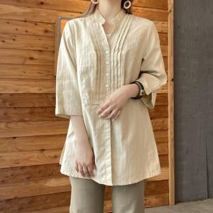 Vintage  pleats-design tunic