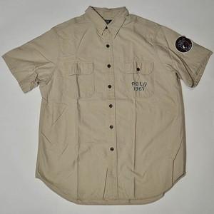 【Used】Polo Ralph Lauren Short Sleeve Shark Print Shirt