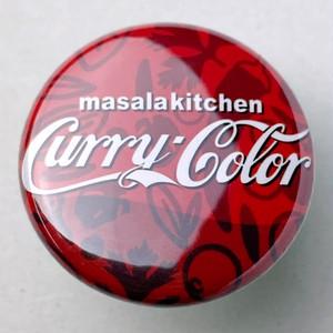 マサラバッジmini(Curry Color)