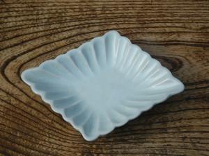 白磁ひし形小皿