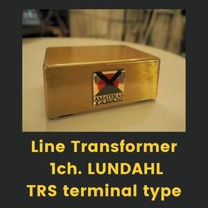 LineTransformer 1ch.LUNDAHL/TRS terminal typeーAMATERAS 0001