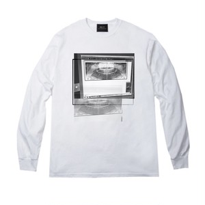 ILL IT × ARISAK - TOOTH TRUTH L/S TEE (WHITE) -