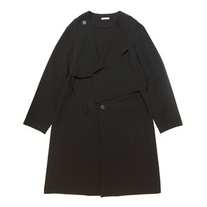 Layered coat - Black