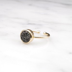 SINGLE MINI DRUZY RING 02