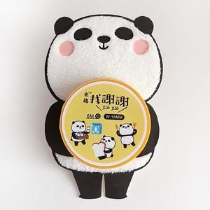 マスキングテープ(謝謝パンダ 牛乳)【台湾】