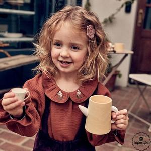 «予約»«pourenfant» florin blouse 4colors フローリンブラウス