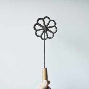【焼き鏝-菊-】菓子用  昭和レトロ