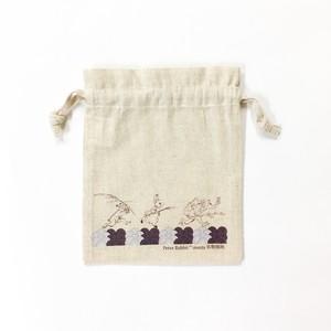ピーターラビット 鳥獣戯画 巾着袋