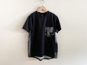ranor(ラナー) BANDANA T-SHIRT メンズ・レディース 半袖Tシャツ BLACK/BLACK