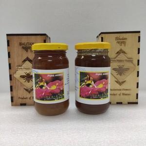 ブータン産はちみつ Pure Happy Honey セット (ホワイトクローバー &ピンクのそばの花) 275g 各1瓶セット