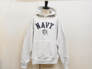 Champion REVERSE WEAVE HOODIE/USNA OFFICIAL PRINT