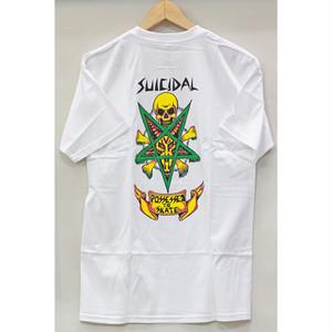 【スーサイダル】PTS Tシャツ ホワイト