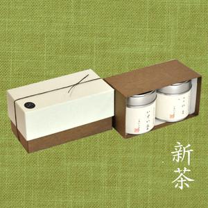 【新茶】小缶2本箱 特選 山壽/八十八夜の茶