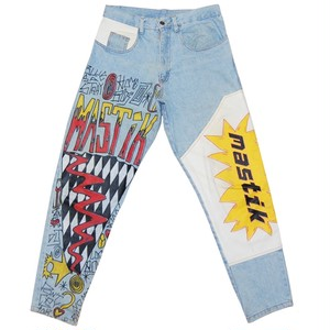 """Mastik"" Vintage Paint Denim Used"