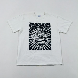 GETTING UP T-Shirt - T White × Black