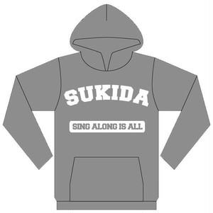 """""""SUKIDA"""" パーカー"""