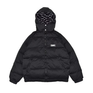 3WAY REVERSIBLE DOWN JACKET / BLACK