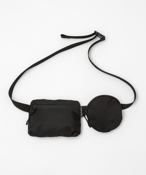 20/80 / RIP STOP NYLON WAIST BAG WITH 2 BAGS