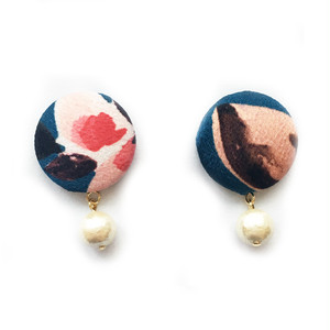 Blue Flower - Earrings