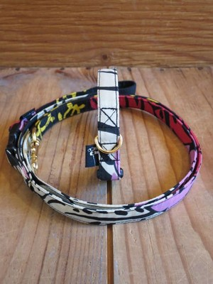 The Black Eyed Peas Collar & Leash - S(小型犬用)