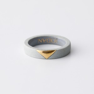 JODAN. aroma ring___Light Gray(triangle)香りを染み込ませるアロマリング