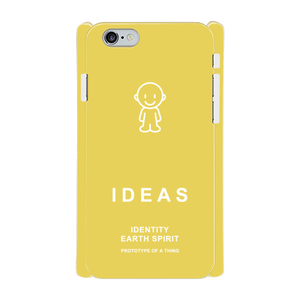 IDEAS/iPhone6/6sケース 800-イエロー