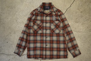 USED 70s Pendleton Board Shirt -Small S0753