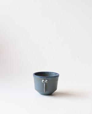 小さな植木鉢(サギ)