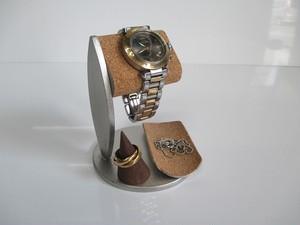 腕時計スタンド トレイ、指輪スタンド付き腕時計スタンド 190803