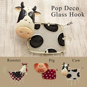 【Pop Deco Glass】ポップデコガラスフック