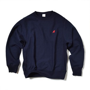CREW NECK SWEAT / RED FIN / NAVY