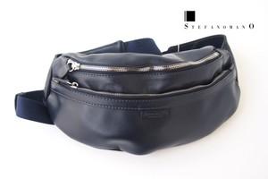 ステファノマーノ|STEFANO MANO|ニューブラックショルダーバッグ|ボディバッグ|SM21|ネイビー